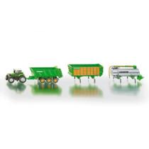 Deutz-Fahr traktori Joskinin perälaitteilla 1:87 SIKU