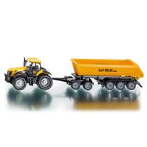 JCB traktori ja peräkärry dollylla Siku 1:87