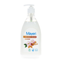Nestesaippu 500ml. Mayeri Almond+Balsam