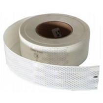 Heijastintarra, valkoinen 50mm/1m