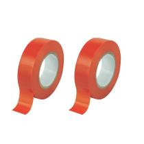Eristysteippi PVC 19mmx20m punainen