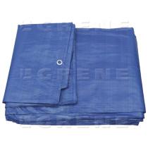 Kravas pārklājs, 4x6m 90g/m2 zils