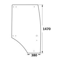 Durvju stikls RH 2522-6708013-01 OR.