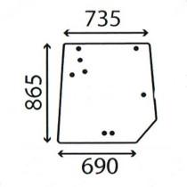 Aizmugures stikls 4272760M1