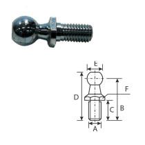 Bumbiņu skrūve M10 Ø16mm L-36mm