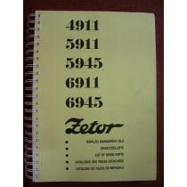 Katalogs ZETOR 4911-6945