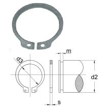 Atdures gredzens 30mm Vārpstai DIN 471