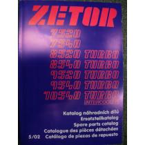 Katalogs ZETOR 7520-9520-10540