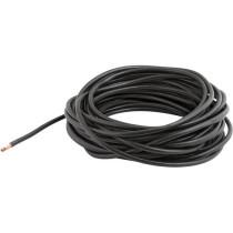Akumulatora kabelis 1x25mm²  melns