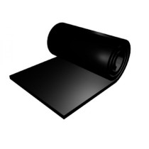 """""""Eļļas izturīga gumijas plāksne L1200 #2mm + 1PR 65Sh"""