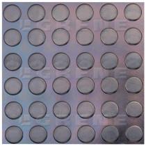 Grīdas pārklājums SBR #4mm melns L-1200mm
